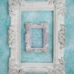 Baroque resin frame