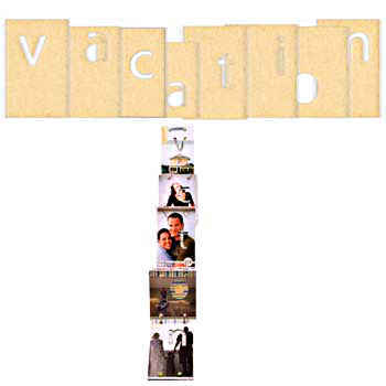 Vacation Chipboard Album - 7gypsies