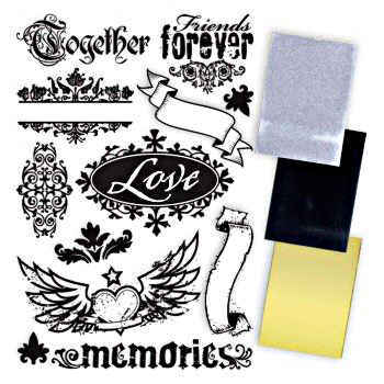 Texture Rub Ons - Ink Memories - 7gypsies