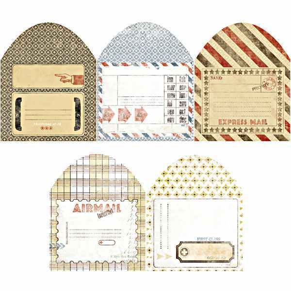Postale Collection Index Envelopes - 7gypsies