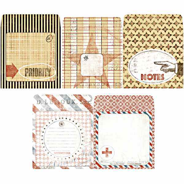 Postale Collection Tag Envelopes - 7gypsies