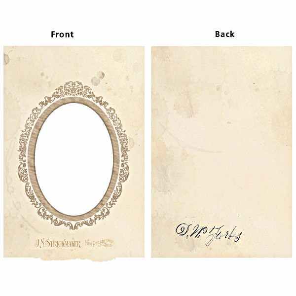 Vintage Frame Cover - Oval - 7gypsies