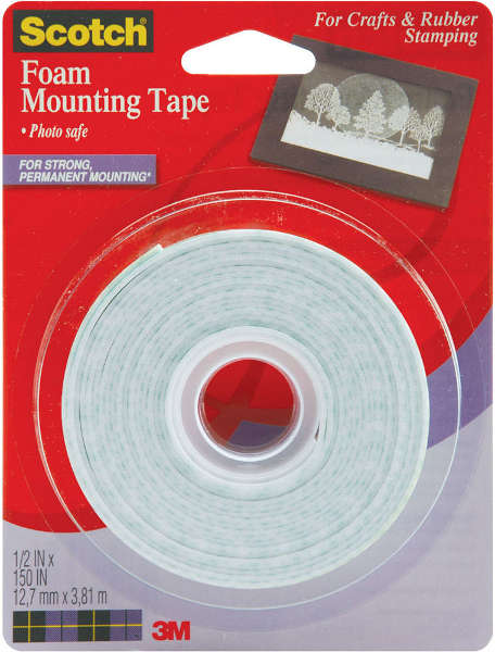 Double Sided - Foam Mounting Tape - 3M Scotch