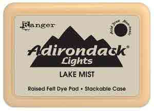 Adirondack Dye Ink Pad - {Lights} Lake Mist - Ranger