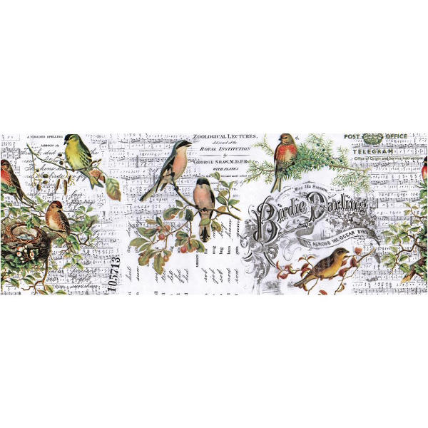Idea-ology Collage Paper - Aviary - Tim Holtz - Advantus-1