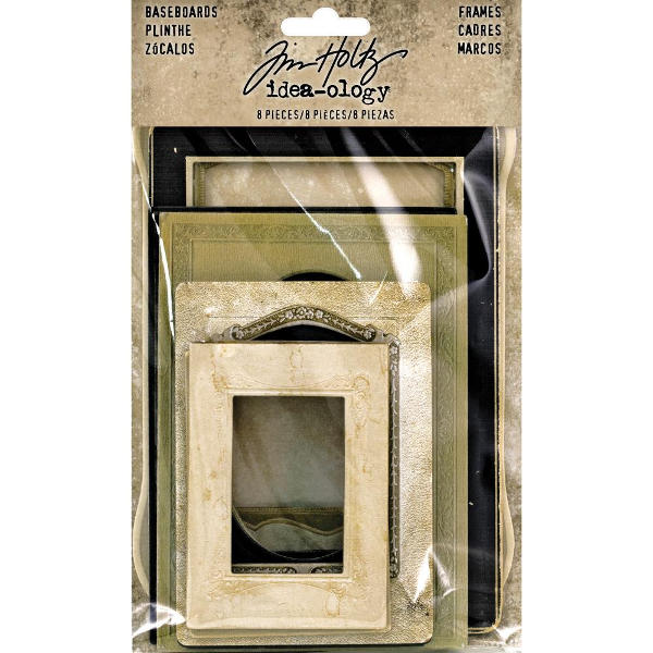 Idea-ology Baseboard Frames - Tim Holtz - Advantus