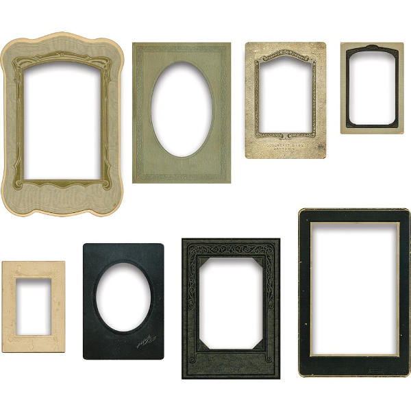Idea-ology Baseboard Frames - Tim Holtz - Advantus-1