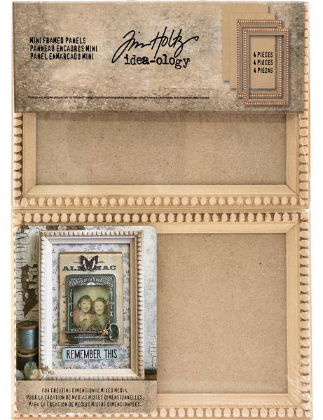 Idea-ology Mini Framed Panels - Tim Holtz - Advantus