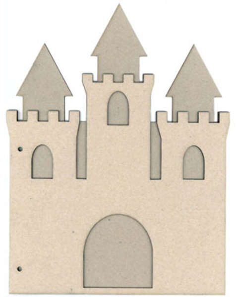 Chipboard Albums - Castle - Scrap FX