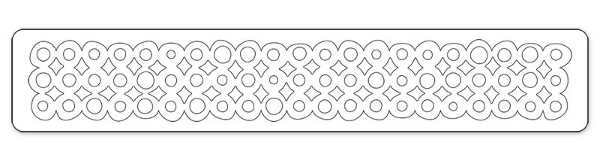 Sizzlits Decorative Strip Die - Alterations Washer Border - Tim Holtz - Sizzix-1