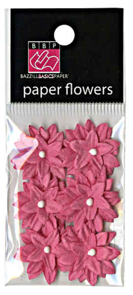 Avalon Paper Flowers - Passionate - Bazzill