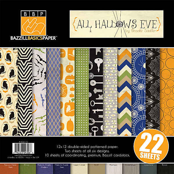 All Hallows Eve 12x12 Multipack - Halloween - Bazzill