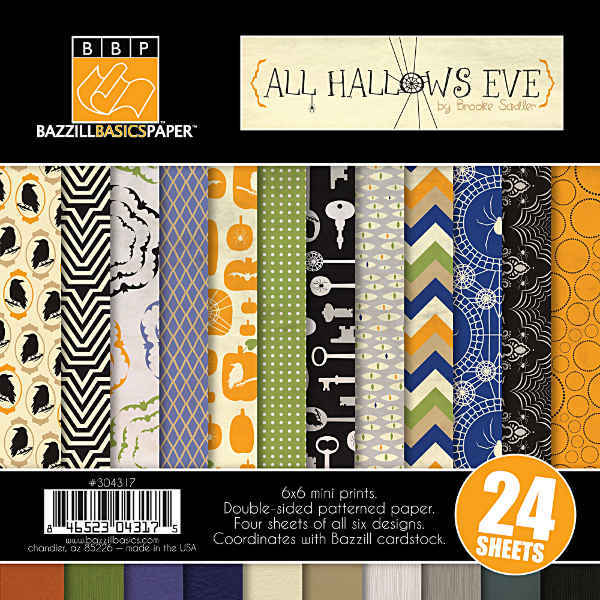All Hallows Eve 6x6 Multipack - Halloween - Bazzill