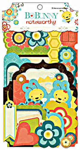 Hello Sunshine Noteworthy Journaling Cards - Die-cuts - Bo Bunny