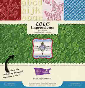 12 X 12 Core Impressions Cardstock Assortment - Jenni Bowlin Vintage Brights - Core'dinations
