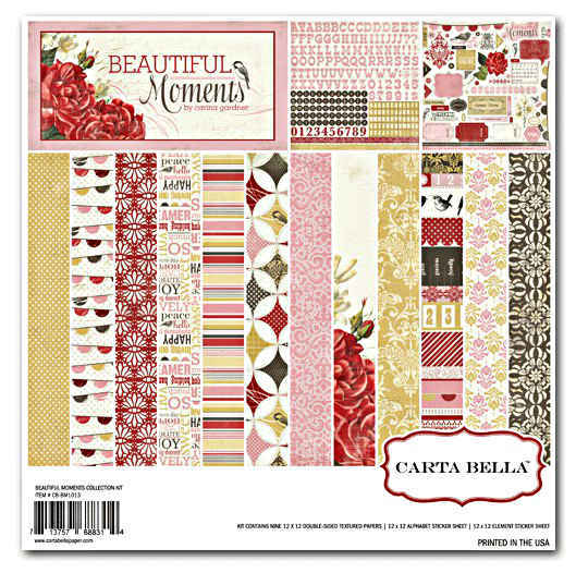 Beautiful Moments   12x12 Collection Kit - Carta Bella
