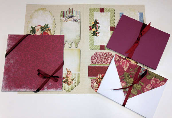 Cardmaking Kit - Vintage Christmas - Creative Inspirations