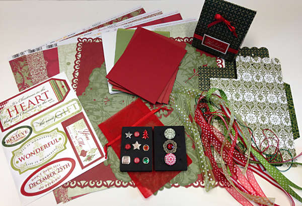 Christmas Magic - Papercrafting Kit - Creative Inspirations