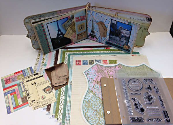 Passport Project Kit - Making Memories