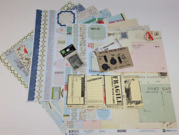 Passport Project Kit - Addon Kit - Making Memories