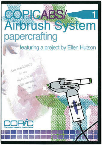 Airbrush System - DVD Papercrafting - Copic