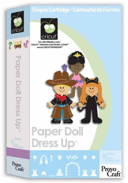 Cartridge - Paper Doll Dress Up - Cricut