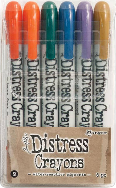 Distress Crayon Set  9 - Ranger