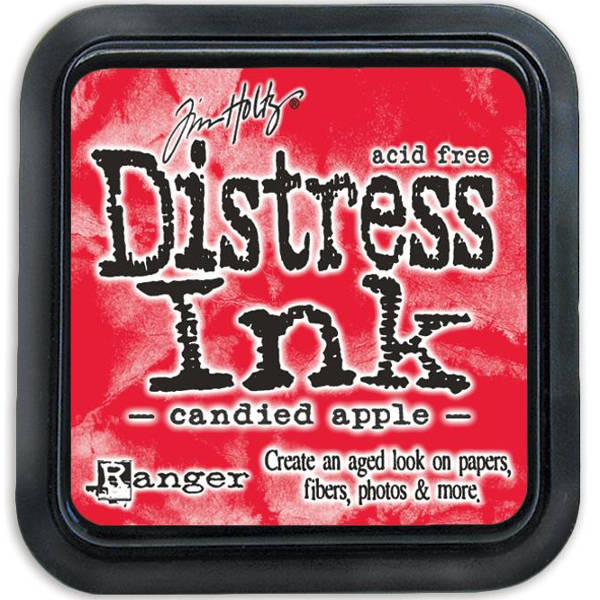 Distress Ink Pads Candied Apple - Tim Holtz - Ranger