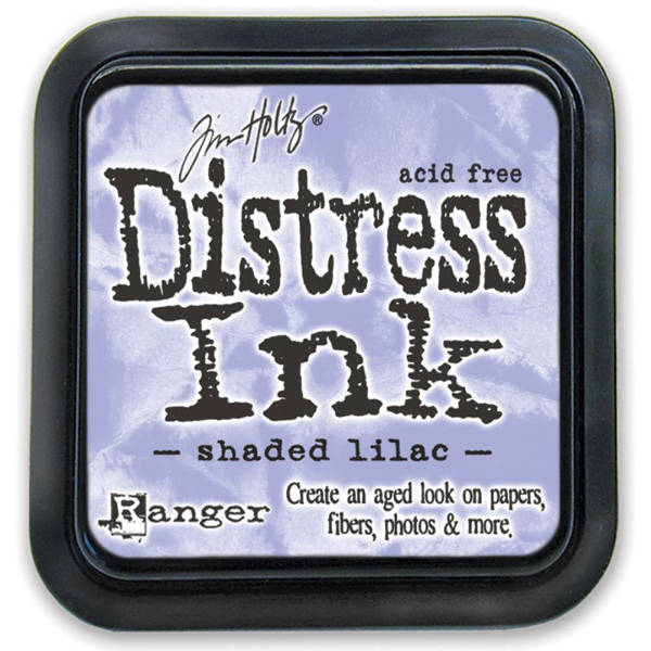 Distress Ink Pads Shaded Lilac - Tim Holtz - Ranger