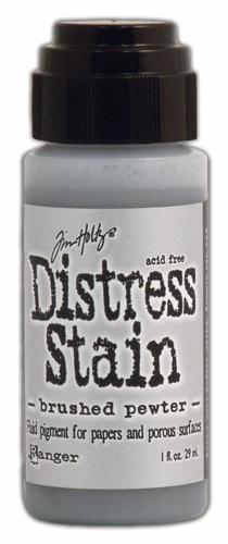 Distress Stains -  Metallics - Brushed Pewter - Tim Holtz - Ranger