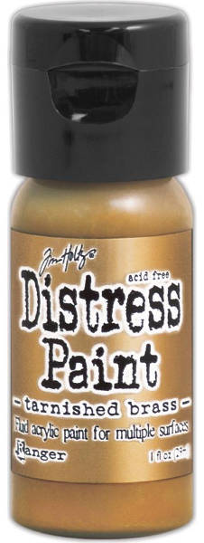 Distress Metallic Paints Flip Top - Tarnished Brass - Ranger