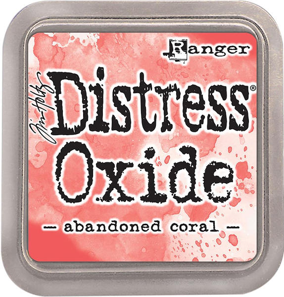 Distress Oxide Ink Pads Abandoned Coral - Tim Holtz & Ranger