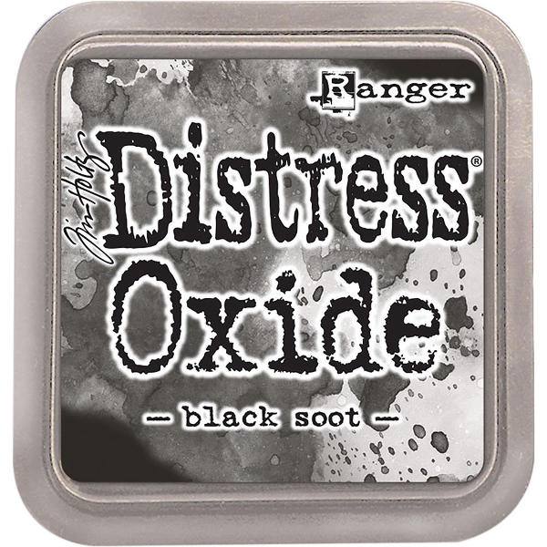 Distress Oxide Ink Pads Black Soot - Tim Holtz & Ranger