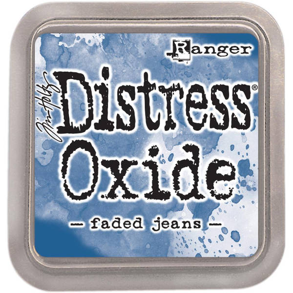 Distress Oxide Ink Pads Faded Jeans - Tim Holtz & Ranger