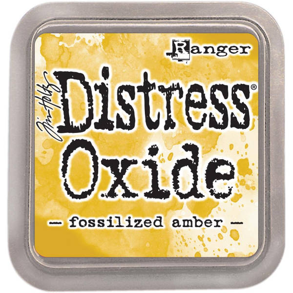 Distress Oxide Ink Pads Fossilized Amber - Tim Holtz & Ranger