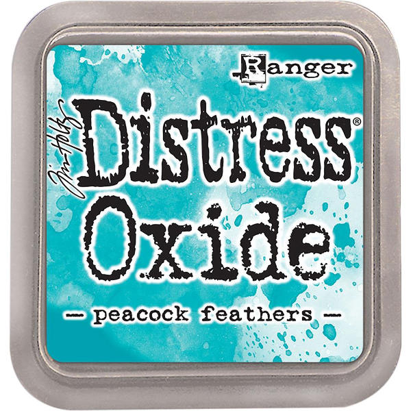 Distress Oxide Ink Pads Peacock Feathers - Tim Holtz & Ranger