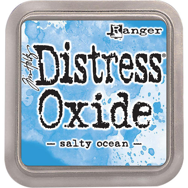 Distress Oxide Ink Pads Salty Ocean - Tim Holtz & Ranger