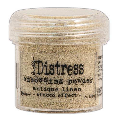 Distress Embossing Powders - Antique Linen - Tim Holtz - Ranger