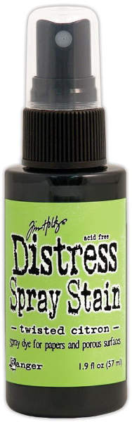 Distress Spray Stains - Twisted Citron - Tim Holtz - Ranger