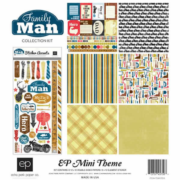 Family Man Collection Kit - Echo Park