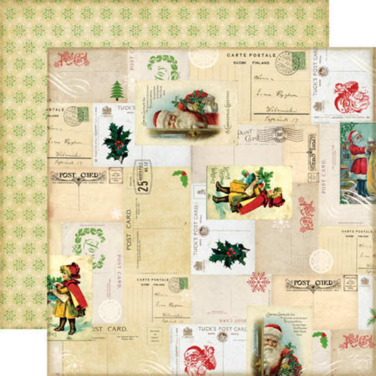Reflections Christmas Letters To Santa - 12x12 Double-sided Paper - Echo Park