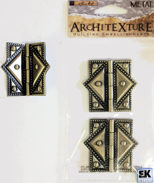 Architexture Brass Classical Hinges - EK Success