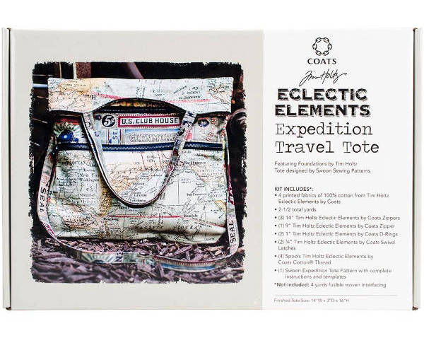 Eclectic Elements Expedition Tote Kit - Tim Holtz