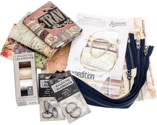 Eclectic Elements Expedition Tote Kit - Tim Holtz-1