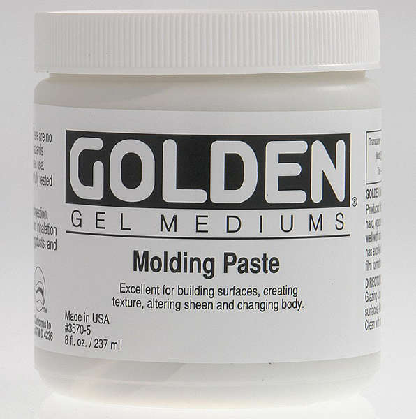 Mediums - Molding Paste - Golden