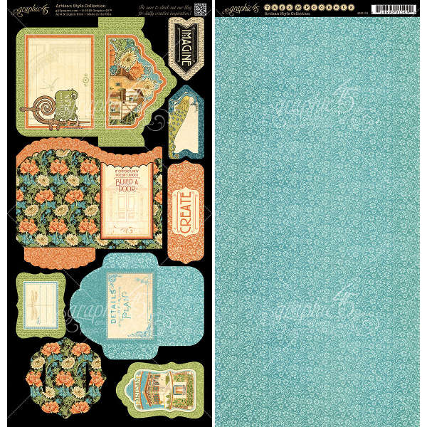 Artisan Style -  Cardstock Tags & Pockets - Graphic 45-2