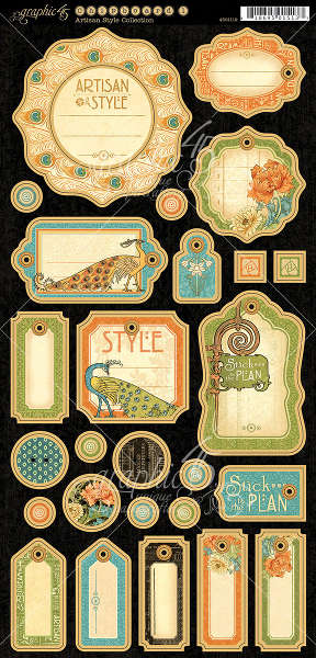 Artisan Style -  Journaling Chipboard - Graphic 45