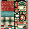 Christmas Carol -  Cardstock Stickers - Graphic 45