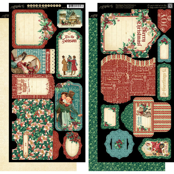 Christmas Carol -  Cardstock Tags & Pockets - Graphic 45