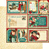Christmas Carol -  Figgy Pudding - 12 x 12 Double-sided Paper - Graphic 45